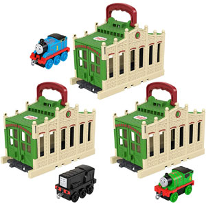 Fisher-Price Thomas & Friends Connect & Go Tidmouth Sheds Asst