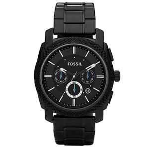 Fossil Mens Machine Stainless Steel Chronograph Quartz Watch