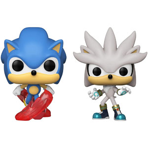 Funko Games: POP! Sonic Collectors Set - Running Sonic, Silver The Hedgehog