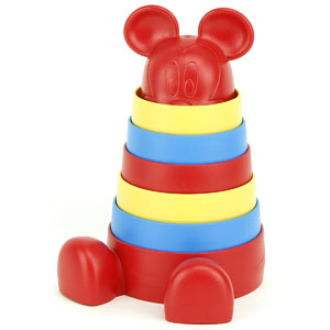 Green Toys Baby Disney Mickey Mouse Stacker
