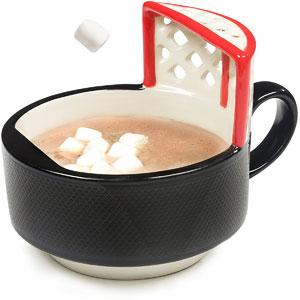 Hockey Mug With A Net