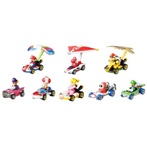 Hot Wheels Mario Kart 8-Pack Collector Set