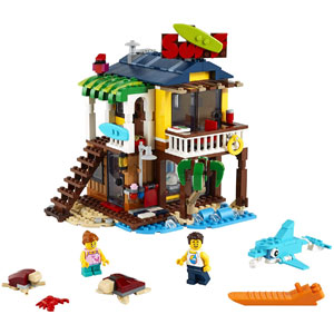 LEGO Creator 3-in-1 Surfer Beach House 31118