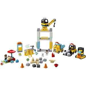 LEGO DUPLO Construction Tower Crane & Construction 10933