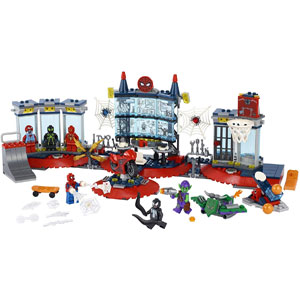 LEGO Marvel Spider-Man Attack on The Spider Lair 76175