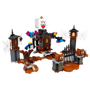 LEGO Super Mario King Boo and the Haunted Yard 71377