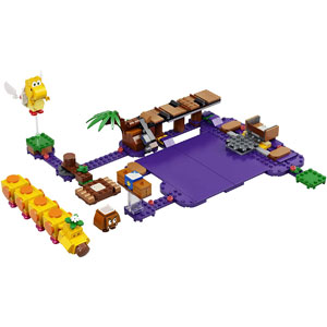 LEGO Super Mario Wigglers Poison Swamp 71383