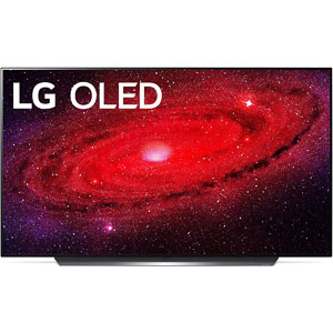 "LG 55"" CX 4K Smart OLED TV (OLED55CXPUA)"