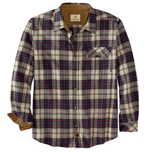 Legendary Whitetails Mens Buck Camp Flannel Shirt
