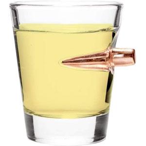 Lucky Shot USA .308 Bullet Shot Glass