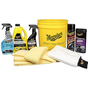 MEGUIARS All in One Essentials Car Care Kit