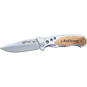 MTech Laser Engraved Personalized Pocket Knife