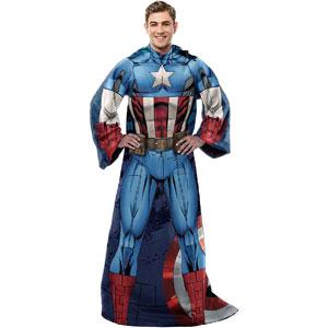 Marvel Captain America Comfy Throw Blanket