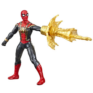 """Marvel Spider-Man 6"""" Deluxe Spider-Man Web Spin Movie-Inspired Action Figure"""