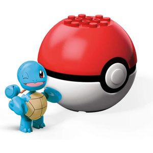 Mega Construx Pokemon Evergreen Pokeball Asst