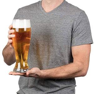 Oversized Extra Large Giant Beer Glass - 53oz