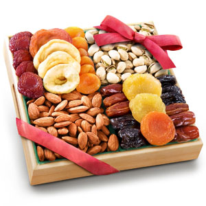 Pacific Coast Classic Dried Fruit/Nut Tray Gift