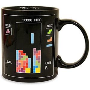 Paladone Tetris Heat Changing Ceramic Coffee Mug