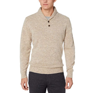 Pendleton Mens Shetland Shawl Collar Pullover Sweater