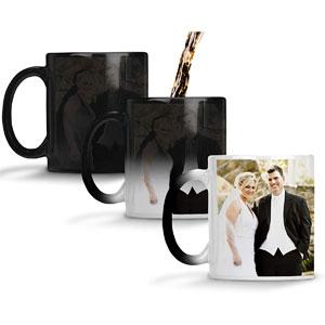 Personalized Heat Sensitive Color-Changing Mug, 11-Oz