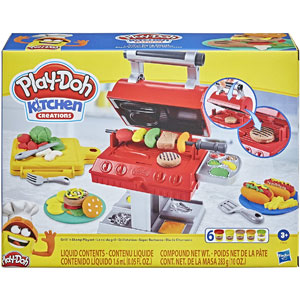 Play-Doh Kitchen Creations Grill n Stamp Playset