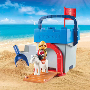 Playmobil 1.2.3 Knights Castle Sand Bucket