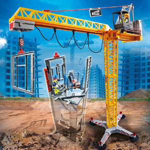 Playmobil City Action RC Crane 70441