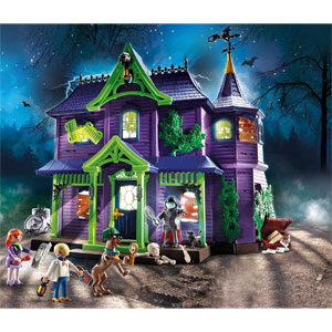 Playmobil Scooby-Doo Haunted House Playset 70361