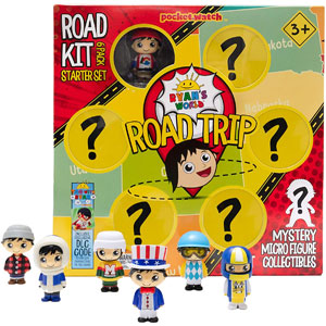 Ryans World Road Trip Road Kit 6 Pack Starter Set