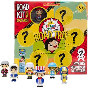 Ryans World Road Trip Road Kit 6 Pack Starter Set