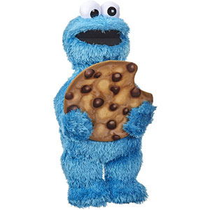 Sesame Street Peekaboo Cookie Monster