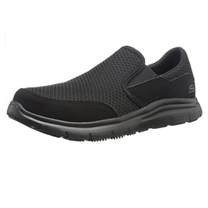 Skechers for Work Mens Flex Advantage Mcallen Food Service Shoe