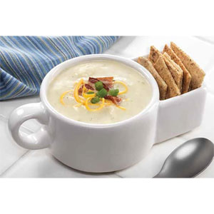 Soup and Cracker Mug or Cereal Bowl