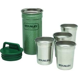 Stanley Adventure Stainless Steel Shots + 8oz Flask Gift Set