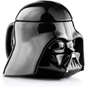 Star Wars Mug - Darth Vader Helmet 3D Coffee Mug with Removable Lid