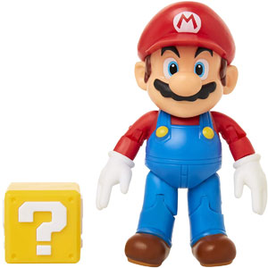 "World of Nintendo 4"" Super Mario Figures"