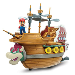 Super Mario Deluxe Bowsers Airship Playset
