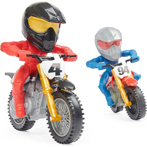 Supercross Race & Wheelie Competition Set