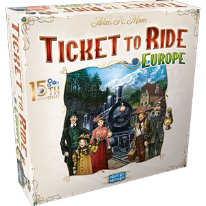 Ticket To Ride Europe: 15th Anniversary