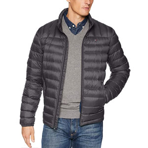 Tommy Hilfiger Mens Packable Down Puffer Jacket