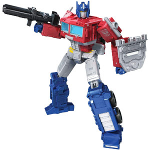 "Transformers: Generations War For Cybertron Kingdom Leader Class 7"" Optimus Prime"