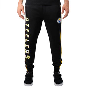 Ultra Game NFL Mens Active Basic Jogger Fleece Pants