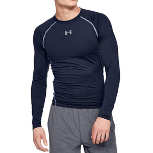 Under Armour Mens HeatGear Armour Compression Long Sleeve T-Shirt