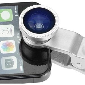 Universal 3-in-1 Camera Lens Kit for Smartphones