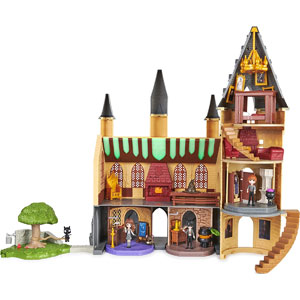 Wizarding World Magical Minis Deluxe Hogwarts Castle & Classroom Playset