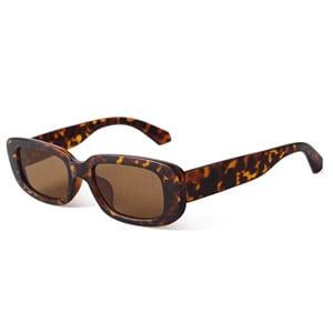 BUTABY Rectangle Retro Sunglasses