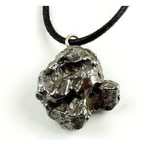 Dancing Bear Meteorite Pendant Necklace