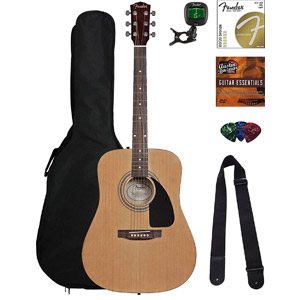 Fender Dreadnought Acoustic Guitar Bundle