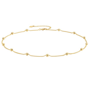 Gold Choker Necklace for Women