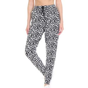 Leggings Depot Leopard Jogger Track Pants